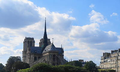 Photograph - Notre Dame Paris by Therese Alcorn