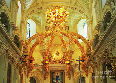 Photograph - Notre Dame Quebec 1 by Randall Weidner