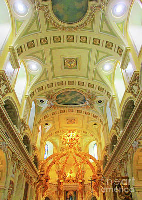 Photograph - Notre Dame Quebec 3 by Randall Weidner