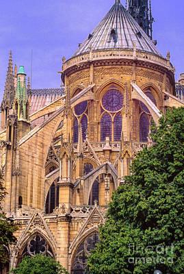 Photograph - Notre Dame Rear by Rick Bragan