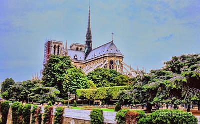 Photograph - Notre Dame by Rick Bragan