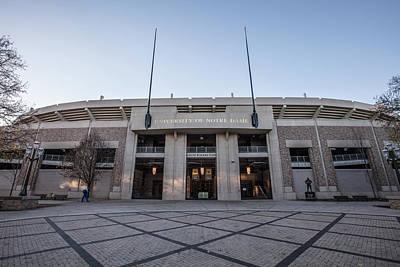 Photograph - Notre Dame Stadium  by John McGraw