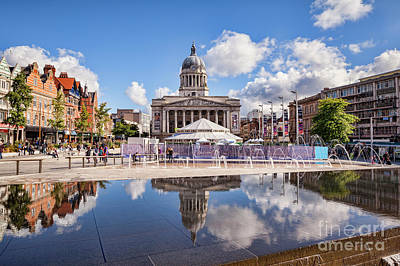 Nottingham, England Art Print by Colin and Linda McKie