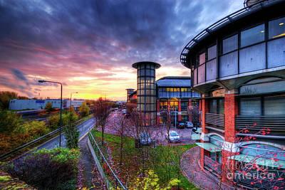 Photograph - Nottingham - Inland Revenue Building by Yhun Suarez