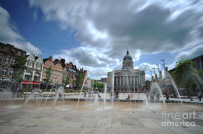 Photograph - Nottingham Town Hall 2.0 by Yhun Suarez