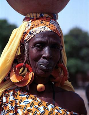 Photograph - Nouhoun Bozo 1991 by Huib Blom