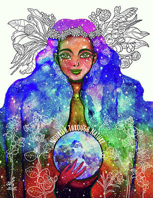 Gaia Mixed Media - Nourish Through Nature by Allison Carpenter