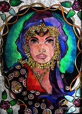 Nouveau Art Print by Amy Williams
