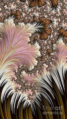 Digital Art - Nouveau Blooming   by Elizabeth McTaggart
