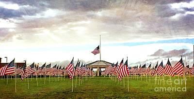 Photograph - Nov5th Memorial - No.2009 by Joe Finney