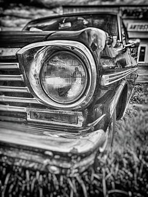 Photograph - Nova Headlight by Marvin Borst