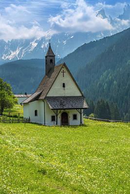 Northern Italy Photograph - Nova Levante Chapel by Melanie Viola