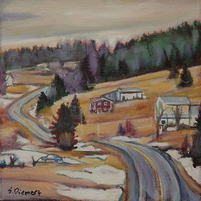 Painting - Nova Scotia - 011 Of Celebrate Canada 150 by Sheila Diemert