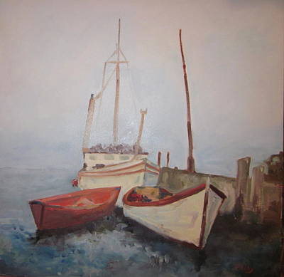 Painting - Nova Scotia 1969 by Brent Moody
