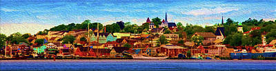 Painting - Nova Scotia by Andre Faubert