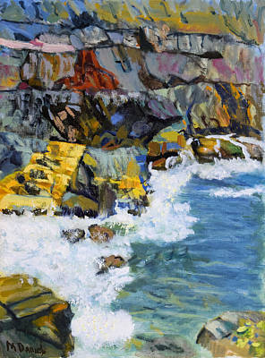 Painting - Nova Scotia Coastline by Michael Daniels