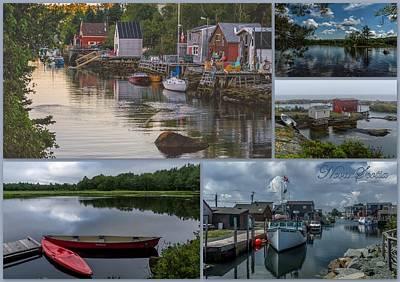 City Of Halifax Photograph - Nova Scotia Postcard by Irena Kazatsker