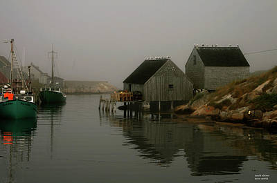 Photograph - Nova Scotia Harbor by Mark Alesse