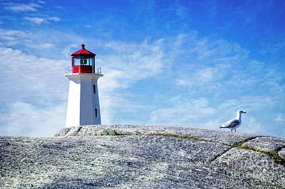 Photograph - Nova Scotia Lighthouse by Scott Kemper