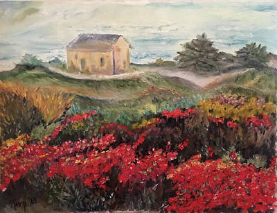 Impressionism Painting - Nova Scotia by Roxy Rich