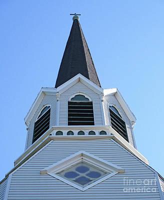 Photograph - Nova Scotia Steeple 1 by Randall Weidner