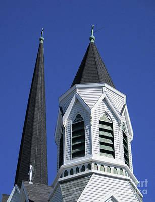 Photograph - Nova Scotia Steeple 2 by Randall Weidner