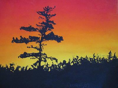 Nova Scotia Tree Art Print by Tabitha Marshall