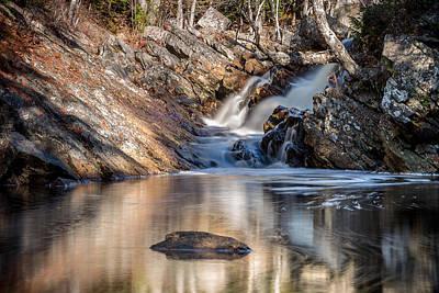 Photograph - Nova Scotia Waterfall 2 by Trevor Kennedy