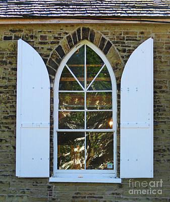 Photograph - Nova Scotia Window 1 by Randall Weidner