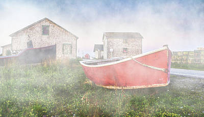 Photograph - Nova Scotian Fishing Village by Garvin Hunter