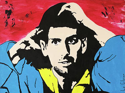 Djokovic Painting - Novak Djokovic  by Le Closier