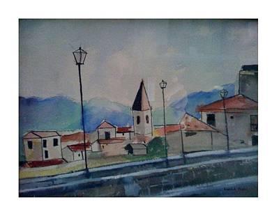 Novara Revisited Art Print by Angela Puglisi