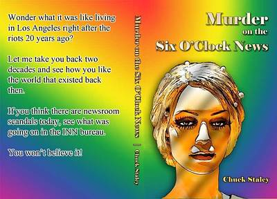 Digital Art - Novel Cover - Paperback by Chuck Staley
