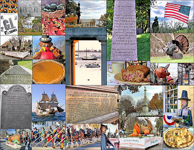 Photograph - November Collage by Janice Drew