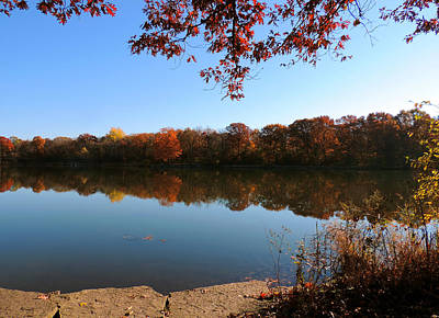 Herrick Lake Photograph - November Colors by Teresa Schomig