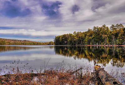 Photograph - November Day On Clear Lake by Dale Kauzlaric