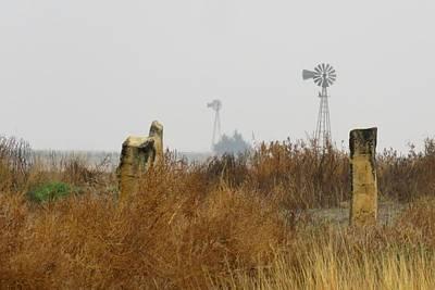 Photograph - November In Ellis County Kansas by Keith Stokes