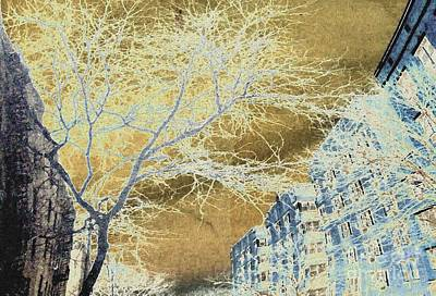 November In The Heights Print by Sarah Loft