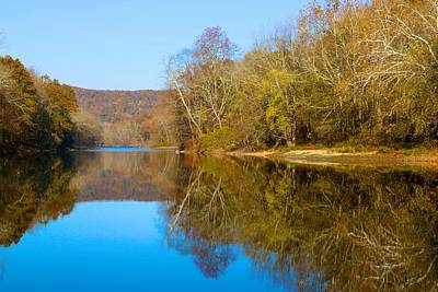 Photograph - November Mirrored In The Housatonic by Polly Castor