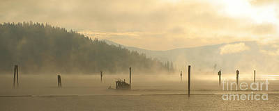 Photograph - November Mist by Idaho Scenic Images Linda Lantzy