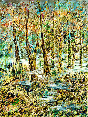 Painting - November Morn by Alfred Motzer