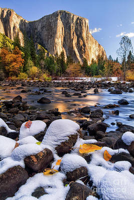 Yosemite Falls Photograph - November Morning by Anthony Michael Bonafede