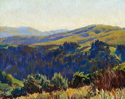 Maynard Dixon Painting - November Morning by Celestial Images