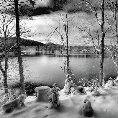 Photograph - November On West Lake by David Patterson