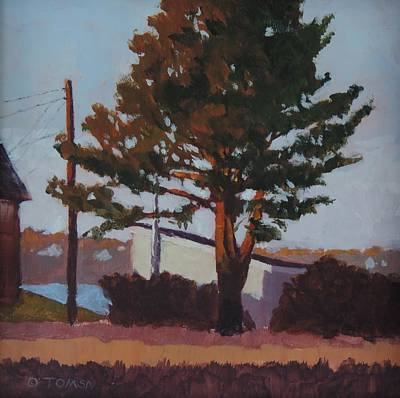 Painting - November Pine by Bill Tomsa