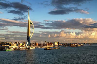 Photograph - Portsmouth Harbour by Shirley Mitchell