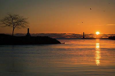 Photograph - November Sun II by James Meyer