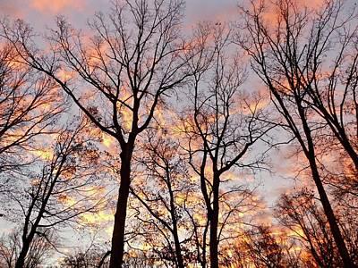Photograph - November Sunrise by Debra MacNealy