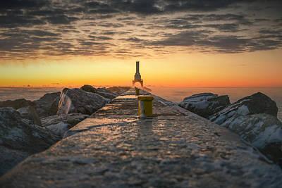 Photograph - November Sunrise Iv 11222015 by James Meyer