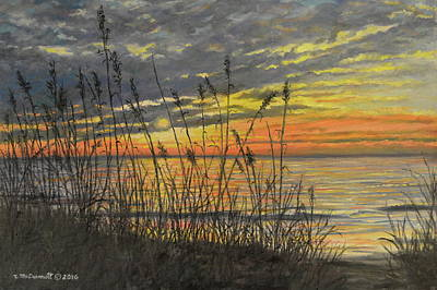 Painting - November Sunrise by Kathleen McDermott